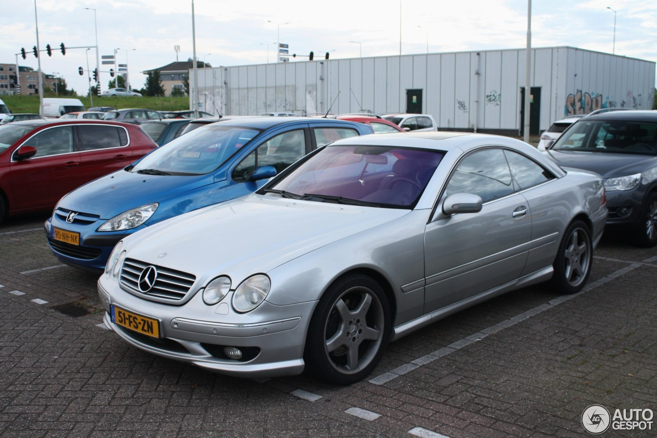 Mercedes benz cl 55 amg c215 4 september 2016 autogespot for Mercedes benz cl 250