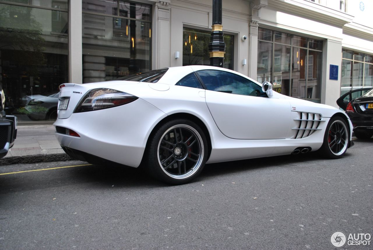 Mercedes benz slr mclaren 722 edition 4 september 2016 for Mercedes benz slr mclaren price