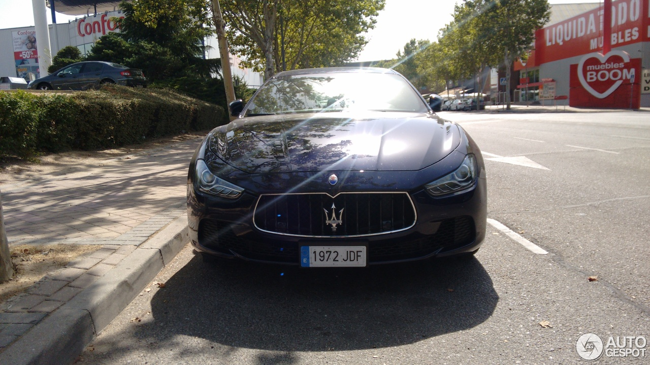 Maserati Ghibli Diesel 2013 5 September 2016 Autogespot # Muebles Boom Alcorcon