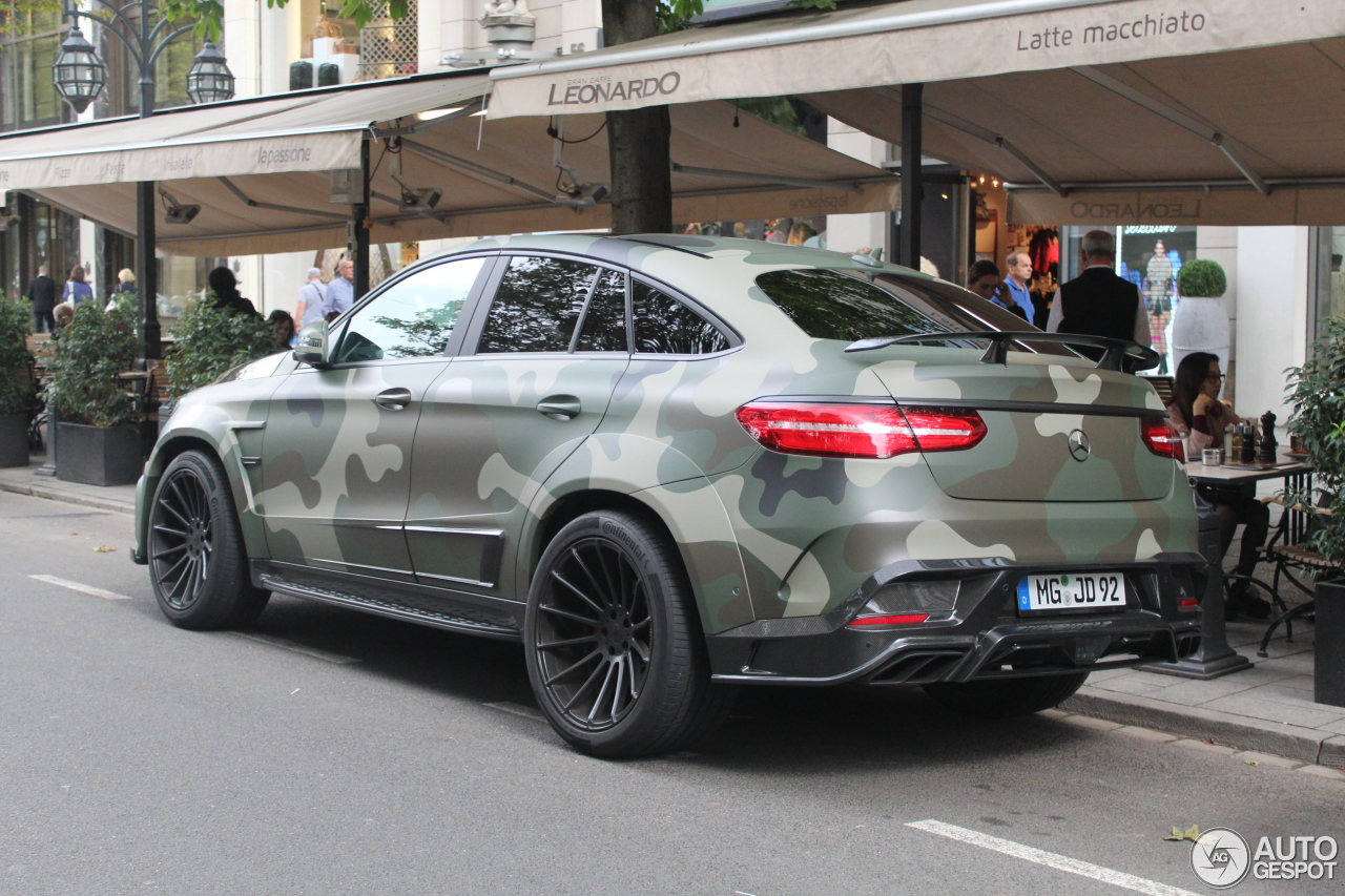 mercedes amg mansory gle 63 s coupe 6 septembre 2016 autogespot. Black Bedroom Furniture Sets. Home Design Ideas
