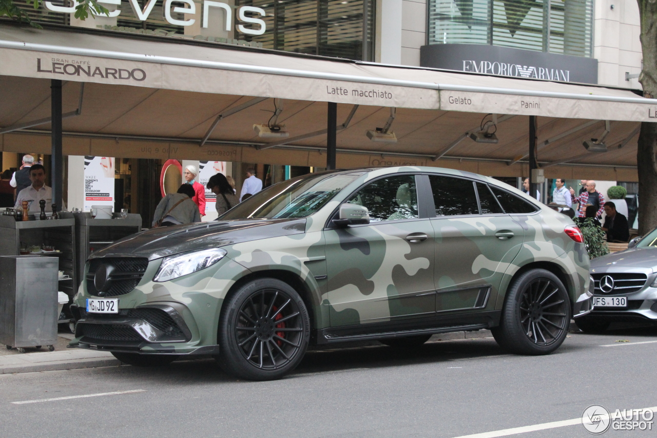 Mercedes Amg Mansory Gle 63 S Coupe 6 September 2016