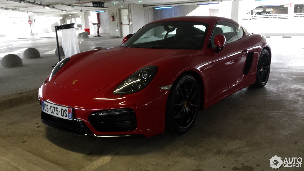 porsche 981 cayman gts 6 september 2016 autogespot. Black Bedroom Furniture Sets. Home Design Ideas
