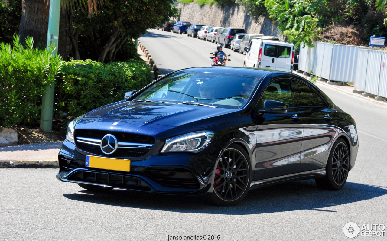 mercedes amg cla 45 c117 2017 7 september 2016 autogespot. Black Bedroom Furniture Sets. Home Design Ideas