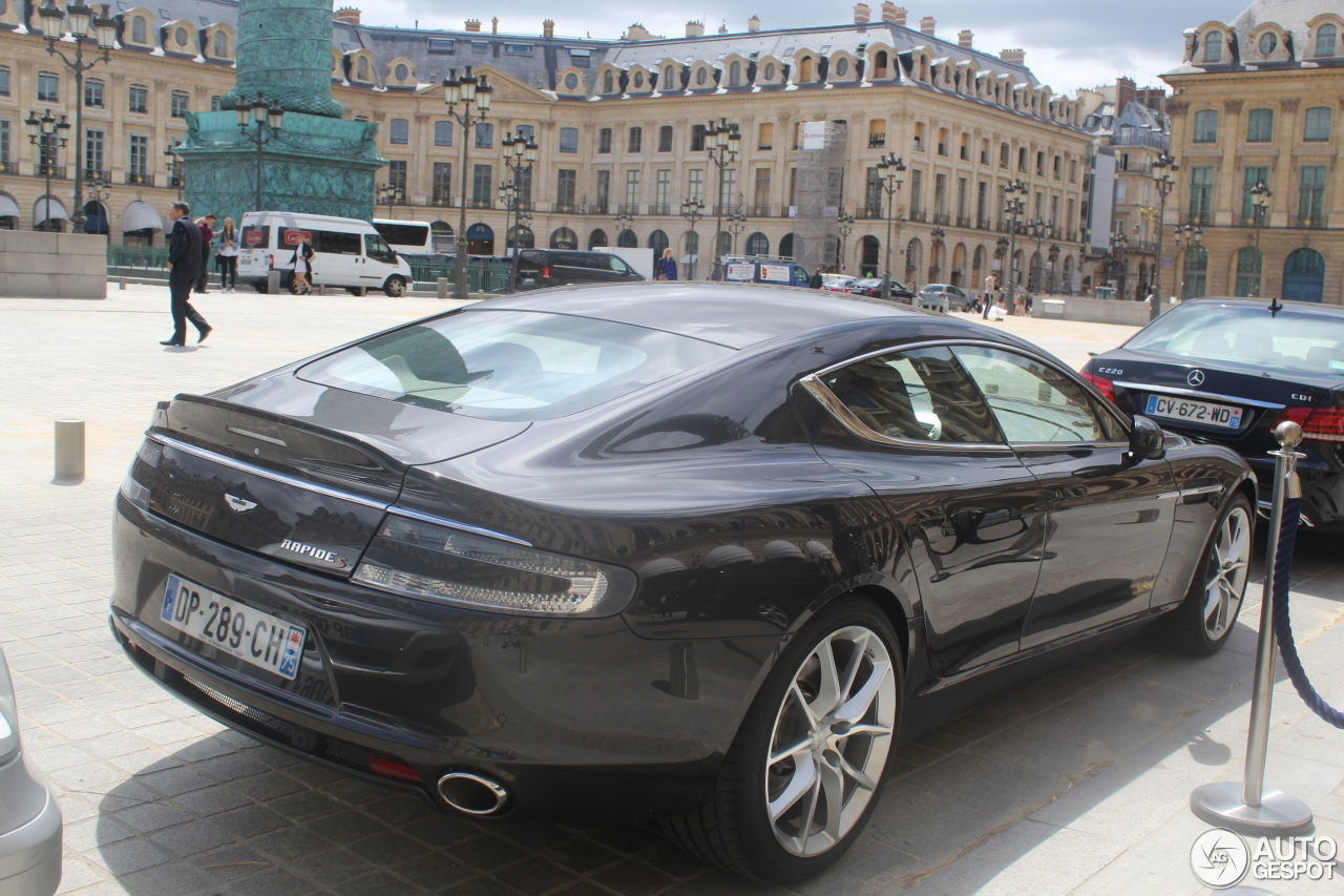 aston martin rapide s 8 september 2016 autogespot. Cars Review. Best American Auto & Cars Review