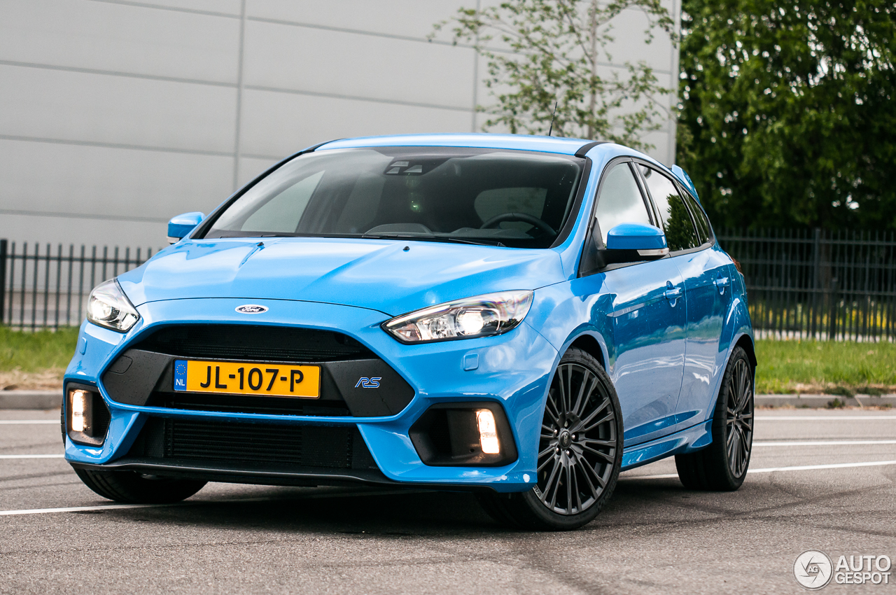 ford focus rs 2015 8 september 2016 autogespot. Black Bedroom Furniture Sets. Home Design Ideas