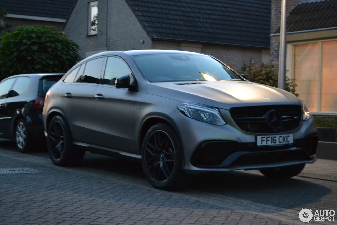 Mercedes Amg Gle 63 S Coup 233 8 September 2016 Autogespot