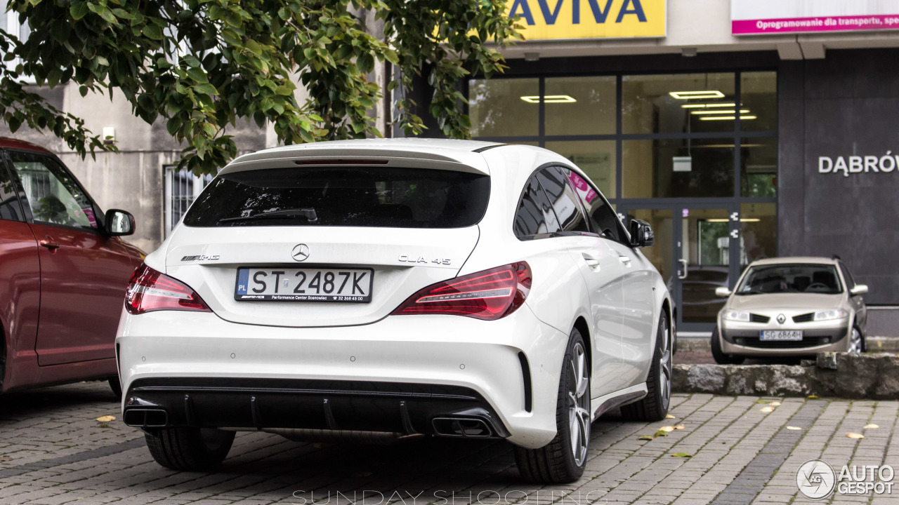 mercedes amg cla 45 shooting brake x117 2017 9 septembre 2016 autogespot. Black Bedroom Furniture Sets. Home Design Ideas