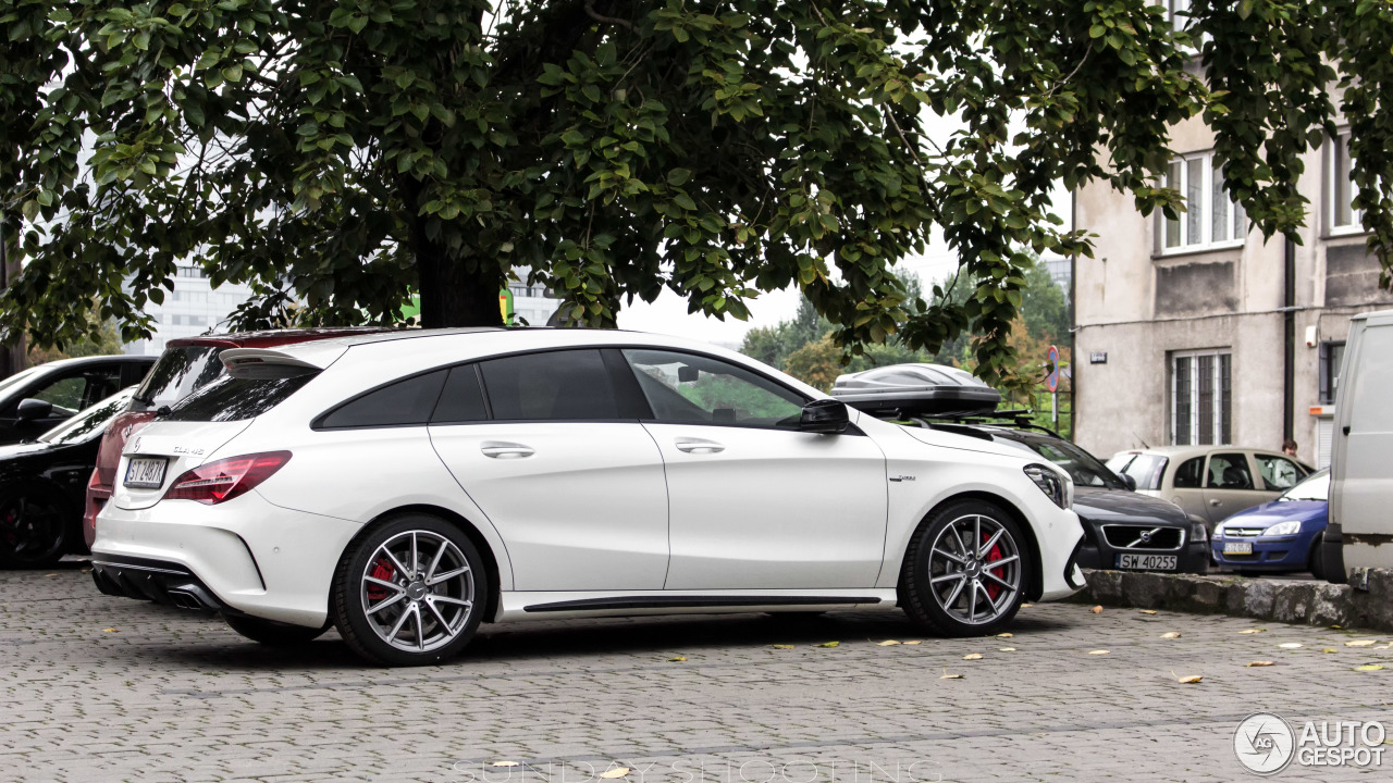 mercedes amg cla 45 shooting brake x117 2017 9 september 2016 autogespot. Black Bedroom Furniture Sets. Home Design Ideas