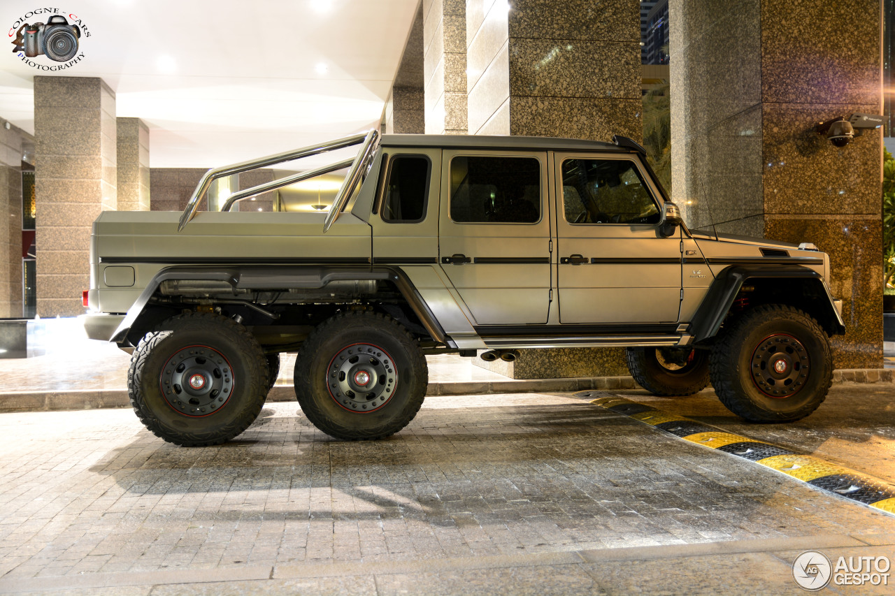 Mercedes benz g 63 amg 6x6 9 september 2016 autogespot for Mercedes benz amg 6x6 price
