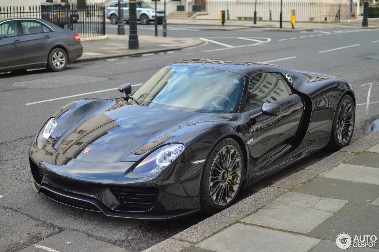 porsche 918 spyder 9 september 2016 autogespot. Black Bedroom Furniture Sets. Home Design Ideas