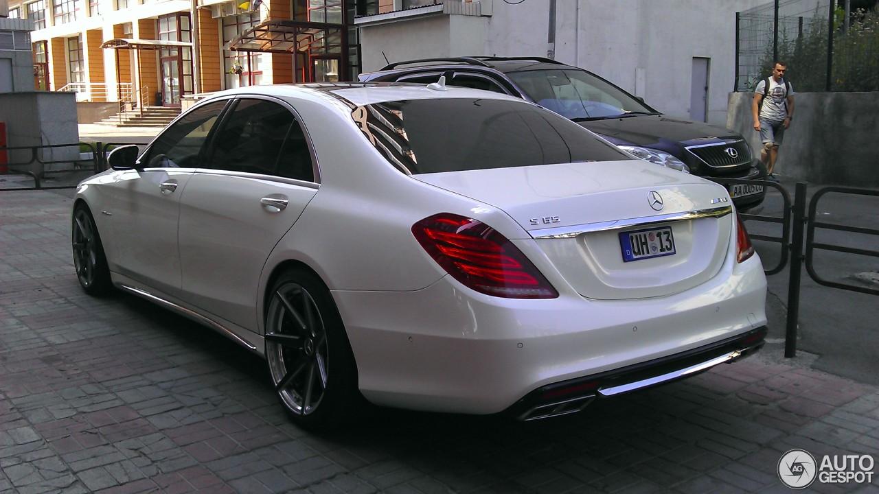 Mercedes Benz S 65 Amg V222 10 September 2016 Autogespot