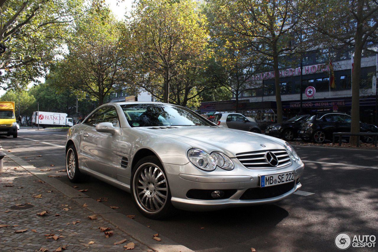 Mercedes benz sl 55 amg r230 10 september 2016 autogespot for Mercedes benz sl r230