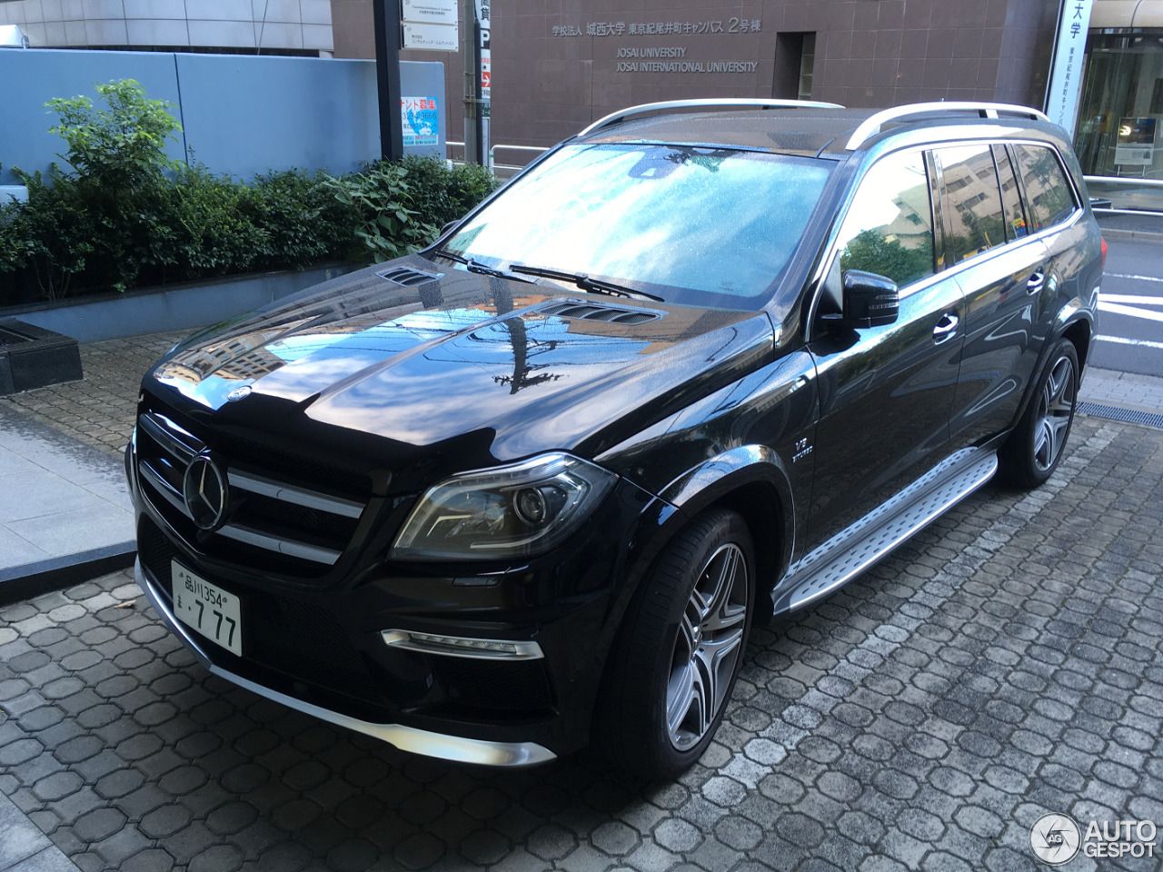 mercedes benz gl 63 amg x166 11 september 2016 autogespot. Black Bedroom Furniture Sets. Home Design Ideas