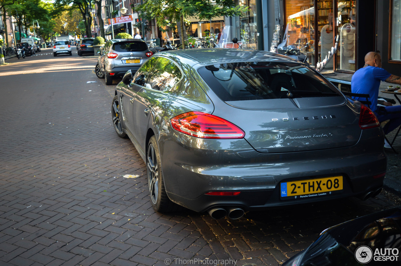 porsche panamera turbo s executive mkii 11 september 2016 autogespot. Black Bedroom Furniture Sets. Home Design Ideas