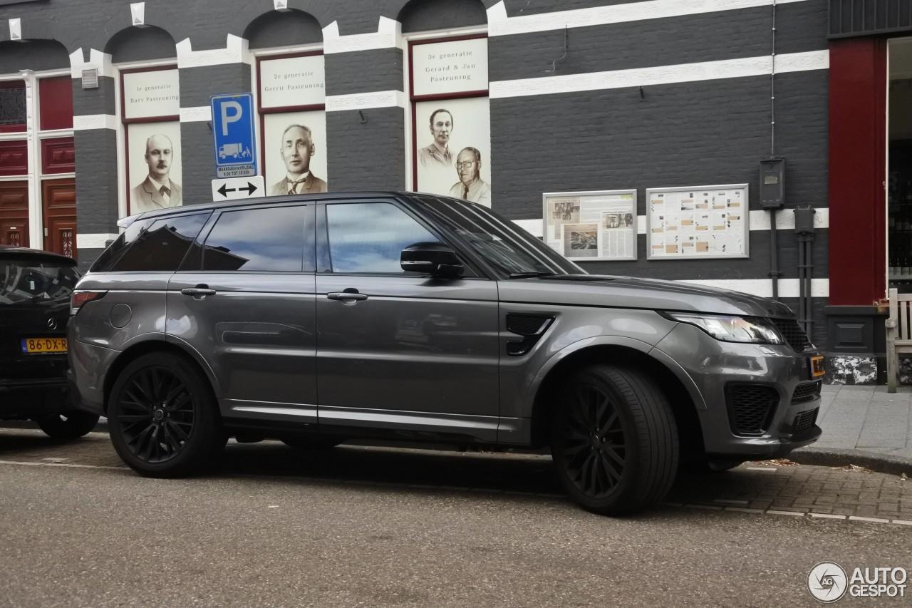 Land Rover Range Rover Sport Svr 13 September 2016