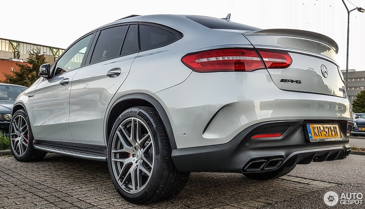 Mercedes amg gle 63 s coup 13 september 2016 autogespot for Mercedes benz gle 63 amg