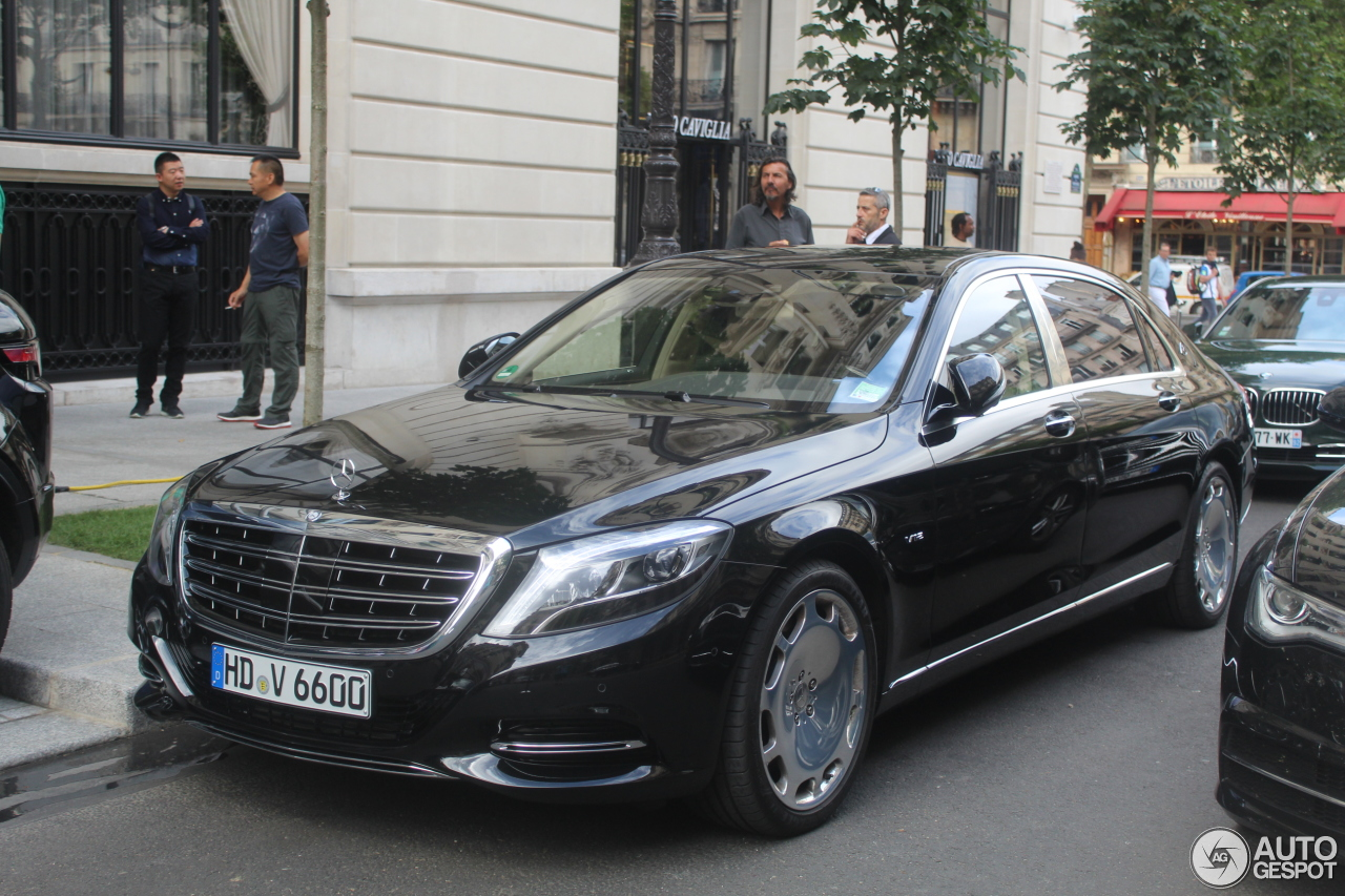 mercedes maybach s600 13 september 2016 autogespot. Black Bedroom Furniture Sets. Home Design Ideas