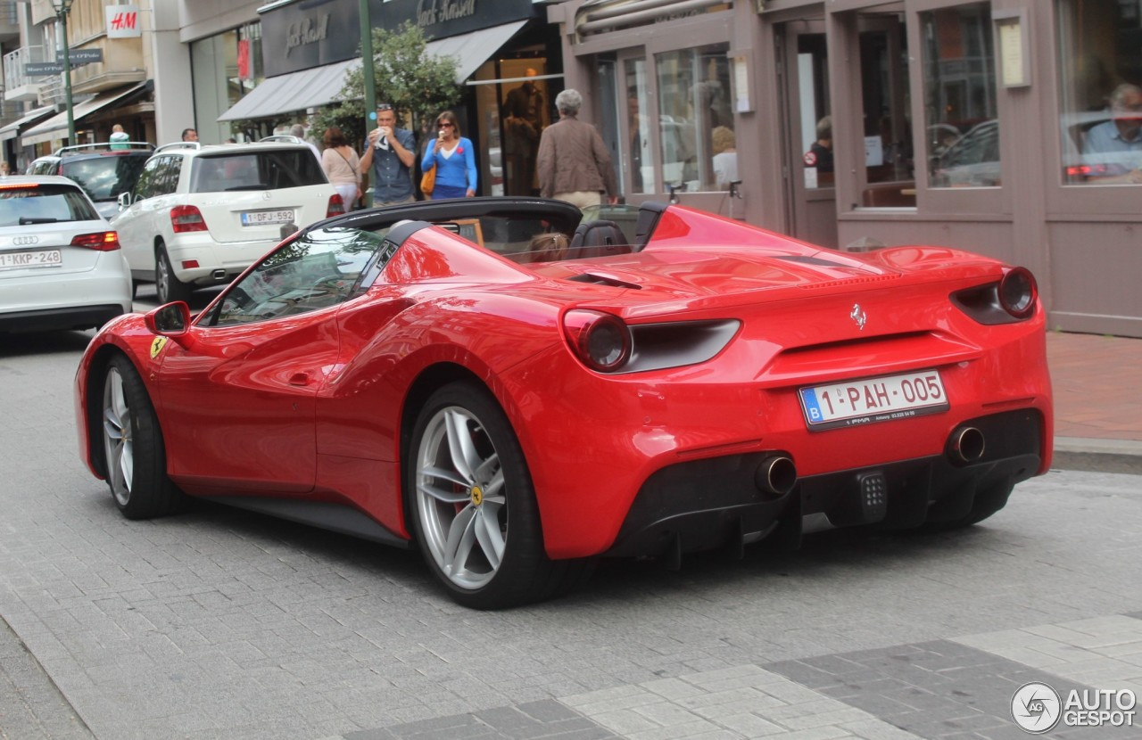 ferrari 488 spider 14 september 2016 autogespot. Black Bedroom Furniture Sets. Home Design Ideas