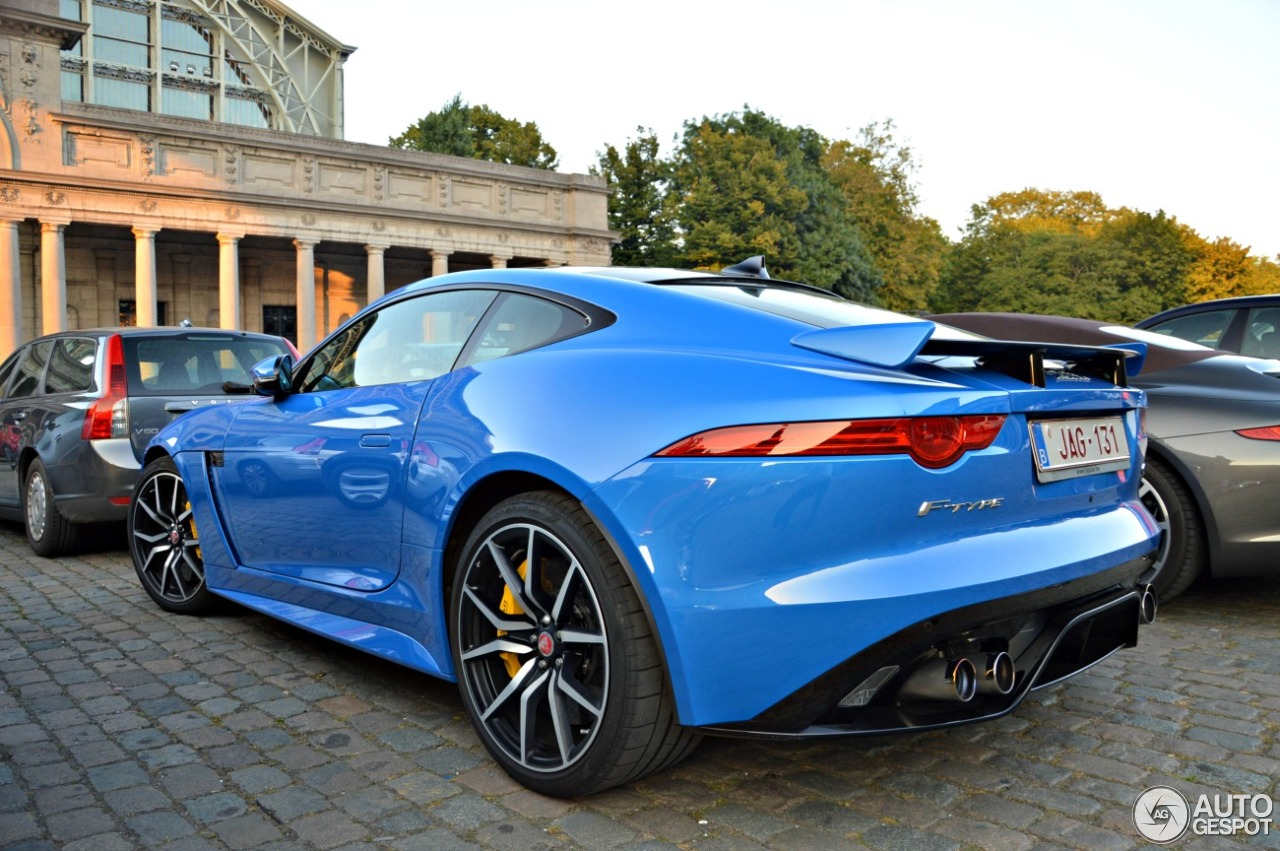 jaguar f type svr coup 14 september 2016 autogespot. Black Bedroom Furniture Sets. Home Design Ideas