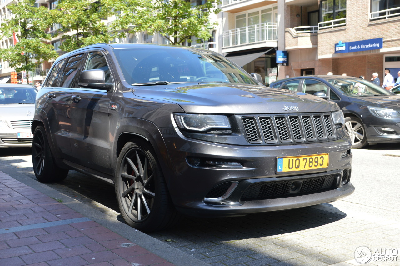 jeep grand cherokee srt 8 2013 14 september 2016 autogespot. Black Bedroom Furniture Sets. Home Design Ideas