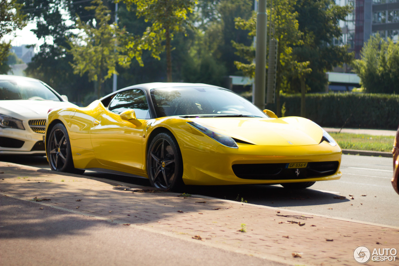 ferrari 458 italia 15 september 2016 autogespot. Cars Review. Best American Auto & Cars Review