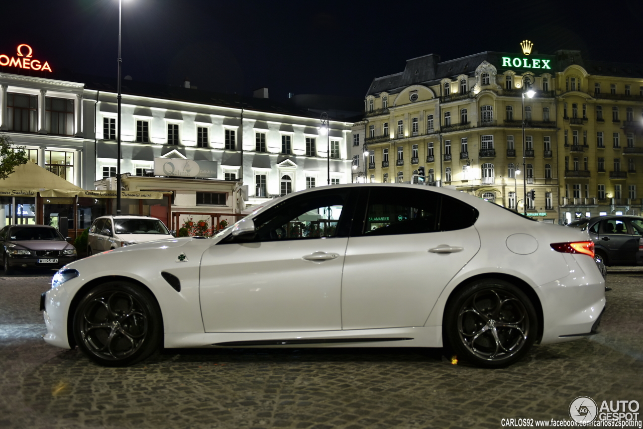 Alfa Romeo Giulia Quadrifoglio 17 September 2016
