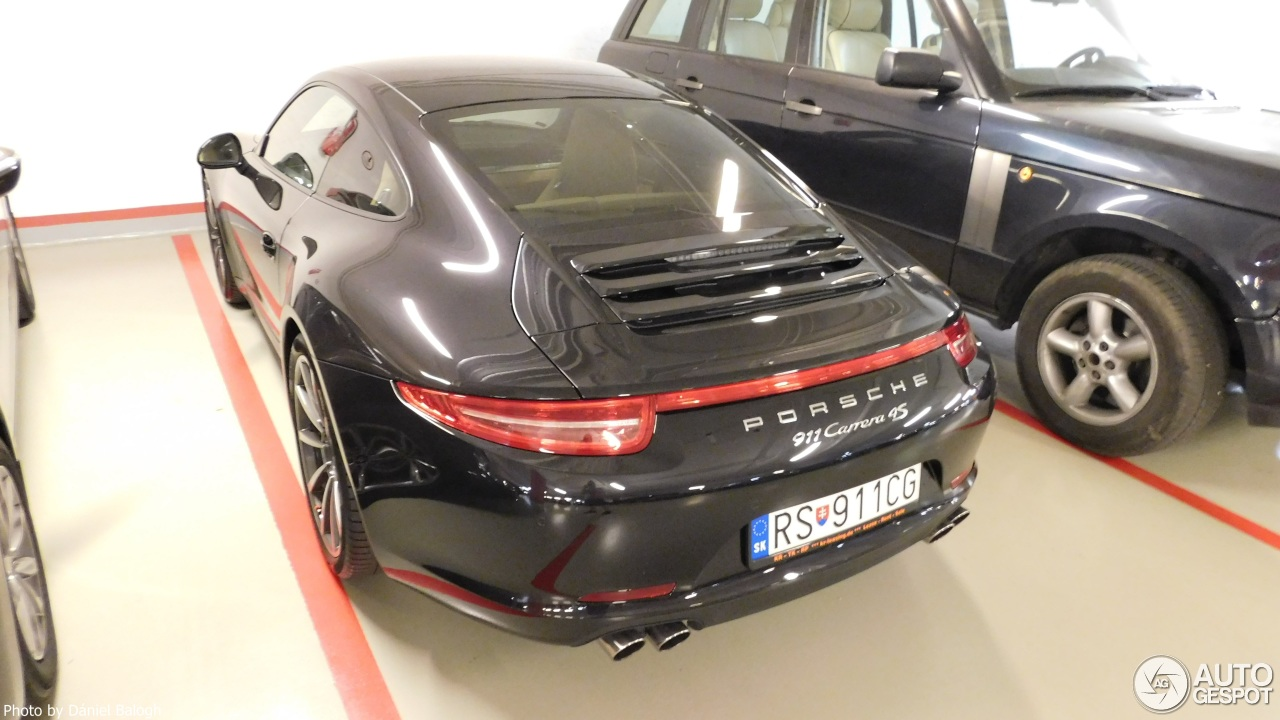 porsche 991 carrera 4s 17 septembre 2016 autogespot. Black Bedroom Furniture Sets. Home Design Ideas