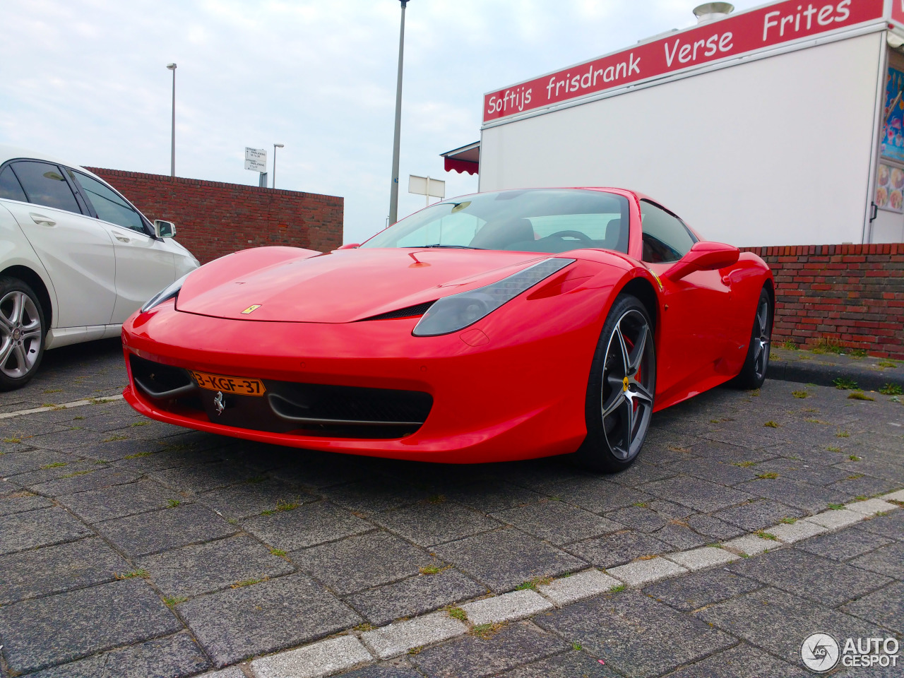 ferrari 458 spider 18 september 2016 autogespot. Black Bedroom Furniture Sets. Home Design Ideas