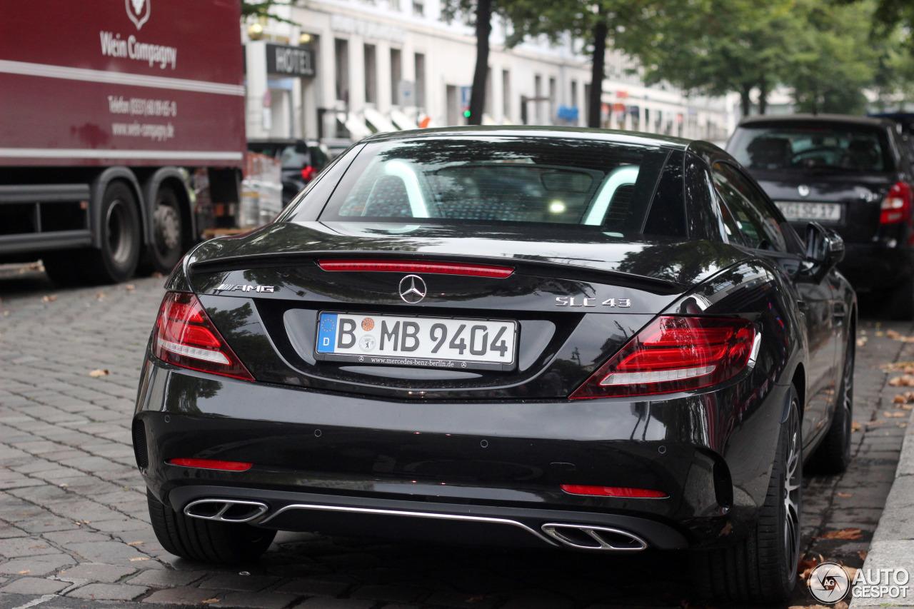 Mercedes amg slc 43 r172 18 september 2016 autogespot for Mercedes benz amg slc 43