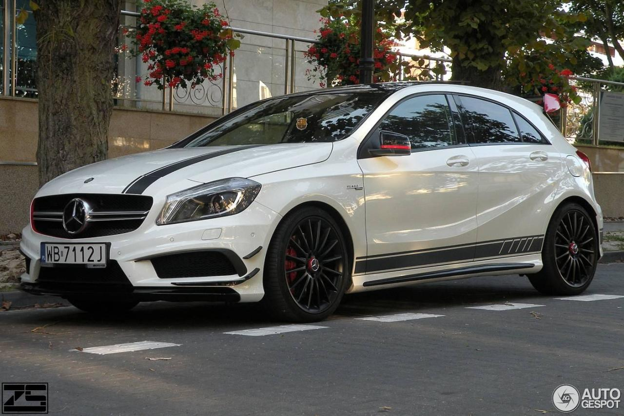 Mercedes benz a 45 amg edition 1 18 september 2016 for Mercedes benz a 45