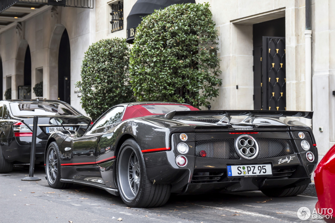 Pagani Zonda C12 F Roadster 18 September 2016 Autogespot