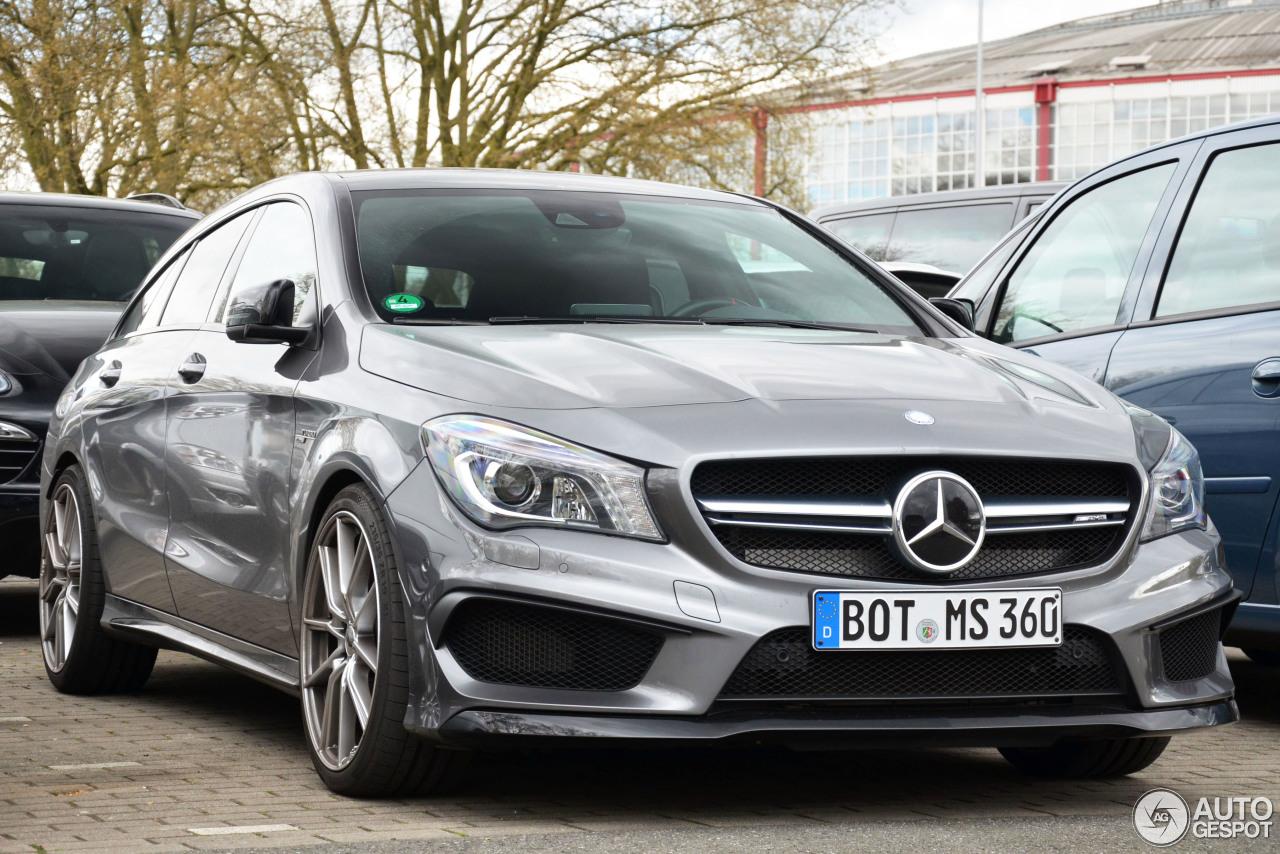 Mercedes benz cla 45 amg shooting brake 19 september for Mercedes benz cla amg price