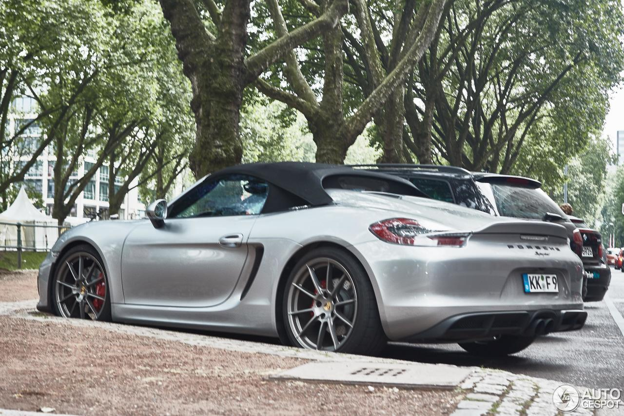 porsche 981 boxster spyder 19 september 2016 autogespot. Black Bedroom Furniture Sets. Home Design Ideas