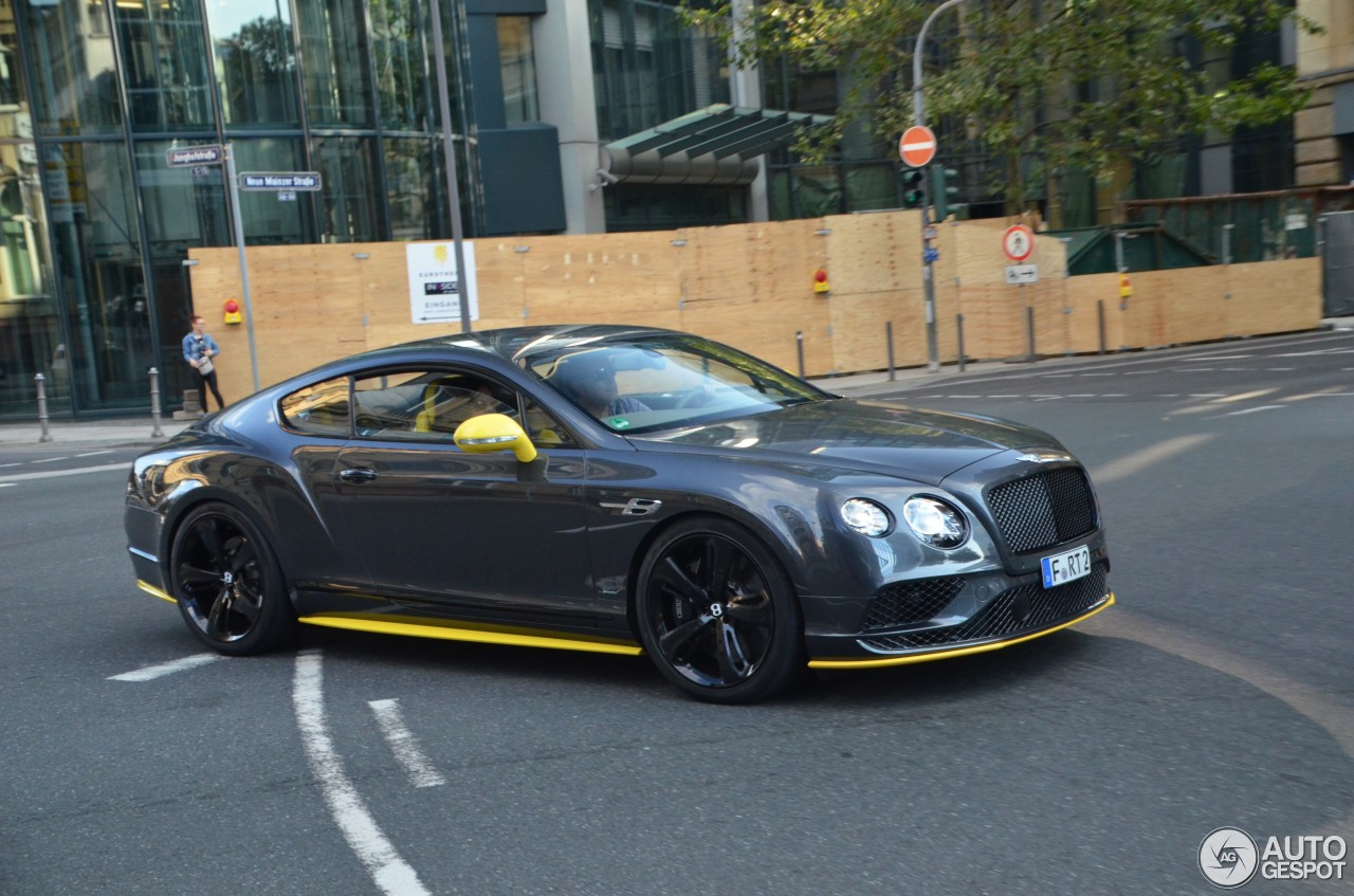 bentley continental gt speed black edition 2016 20 september 2016 autogespot. Black Bedroom Furniture Sets. Home Design Ideas