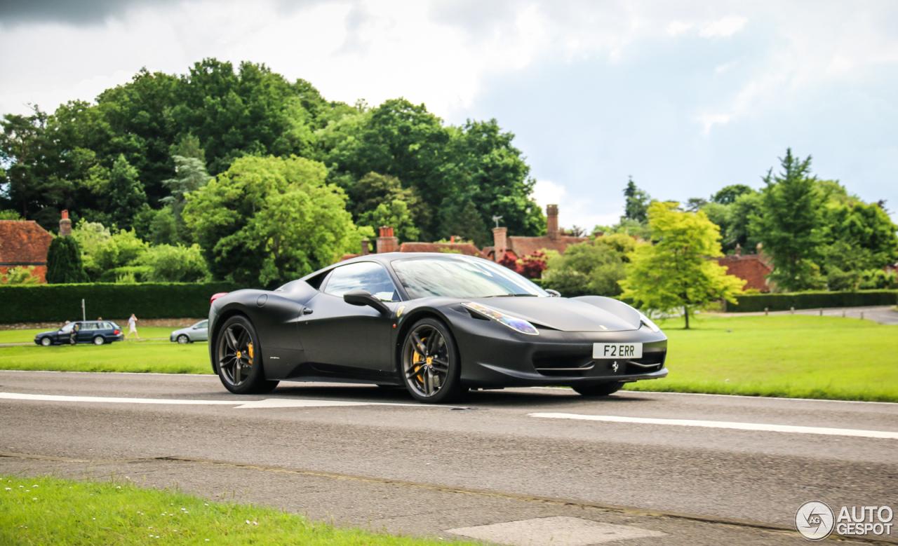 ferrari 458 italia 20 september 2016 autogespot. Cars Review. Best American Auto & Cars Review