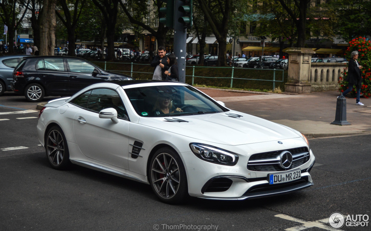 mercedes amg sl 63 r231 2016 21 september 2016 autogespot. Black Bedroom Furniture Sets. Home Design Ideas