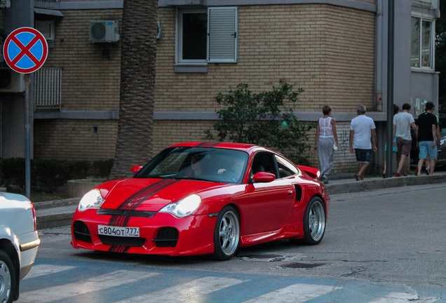 Porsche 996 Turbo Techart