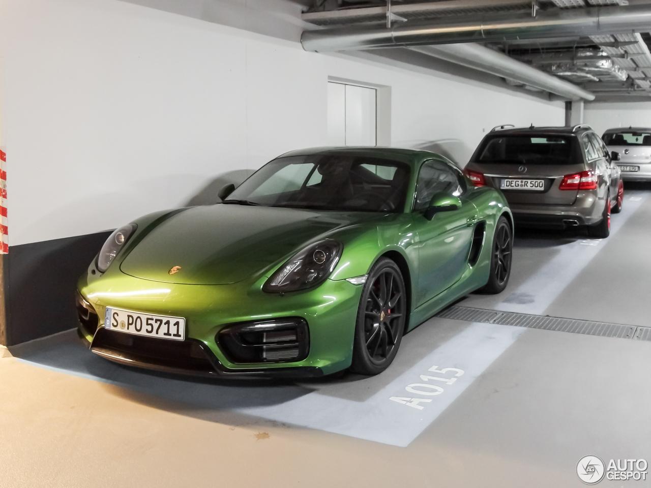 Porsche 981 Cayman Gts 22 September 2016 Autogespot