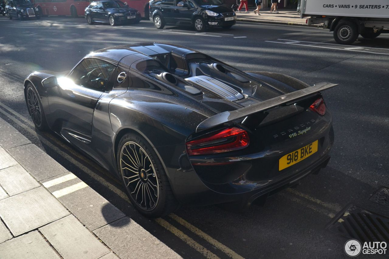 porsche 918 spyder 24 september 2016 autogespot. Black Bedroom Furniture Sets. Home Design Ideas