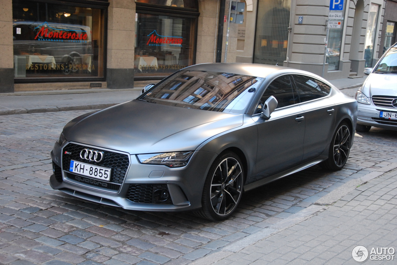 audi rs7 sportback 2015 performance 25 september 2016 autogespot. Black Bedroom Furniture Sets. Home Design Ideas