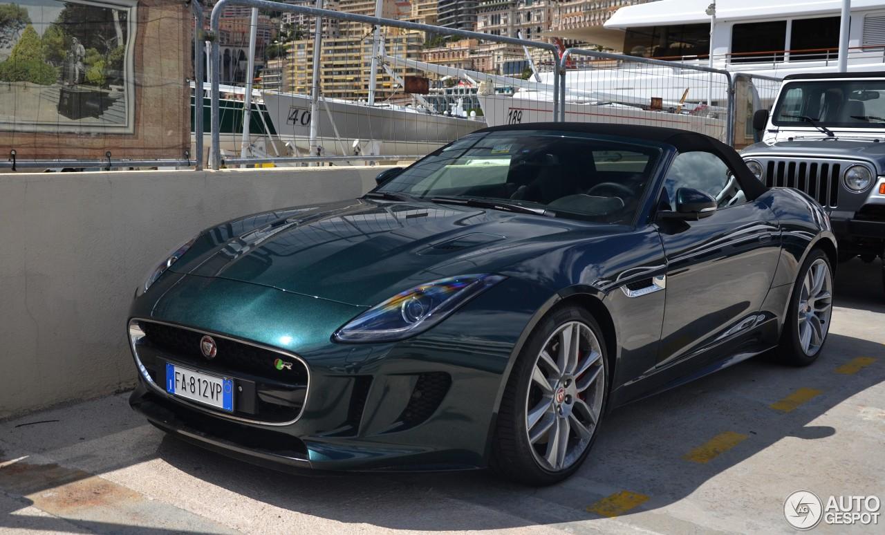 jaguar f type r awd convertible 25 september 2016 autogespot. Black Bedroom Furniture Sets. Home Design Ideas