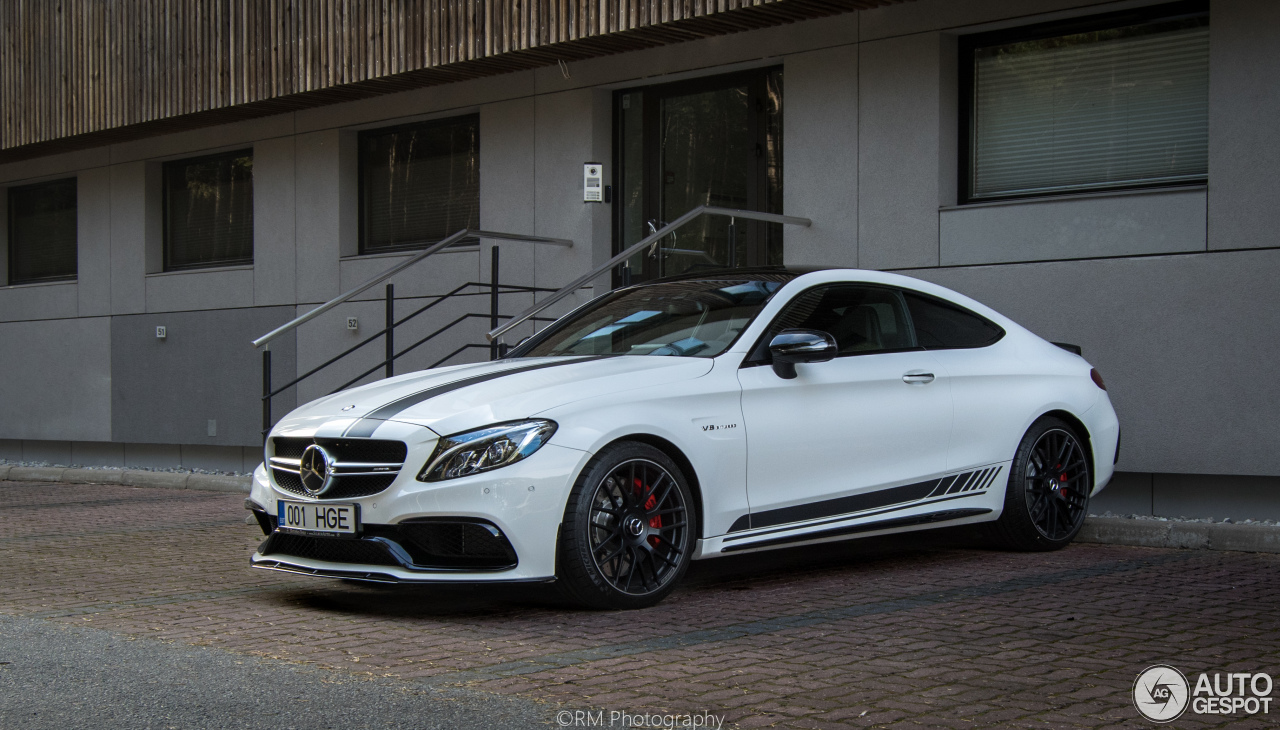 Mercedes-AMG C 63 S Coupé C205 Edition 1 - 25 September 2016 - Autogespot