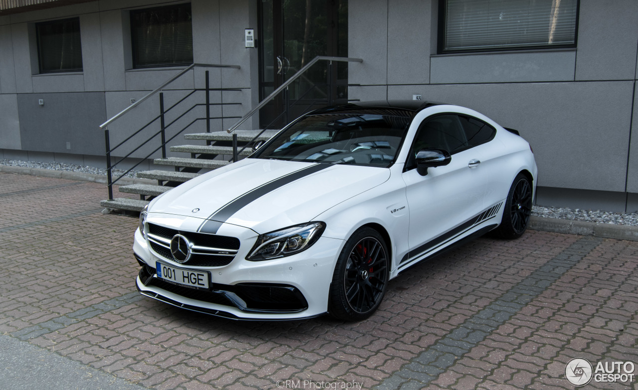 mercedes amg c 63 s coup c205 edition 1 25 september 2016 autogespot. Black Bedroom Furniture Sets. Home Design Ideas