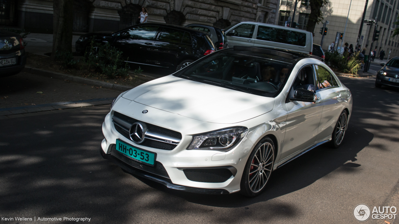 mercedes benz cla 45 amg c117 25 september 2016 autogespot. Black Bedroom Furniture Sets. Home Design Ideas