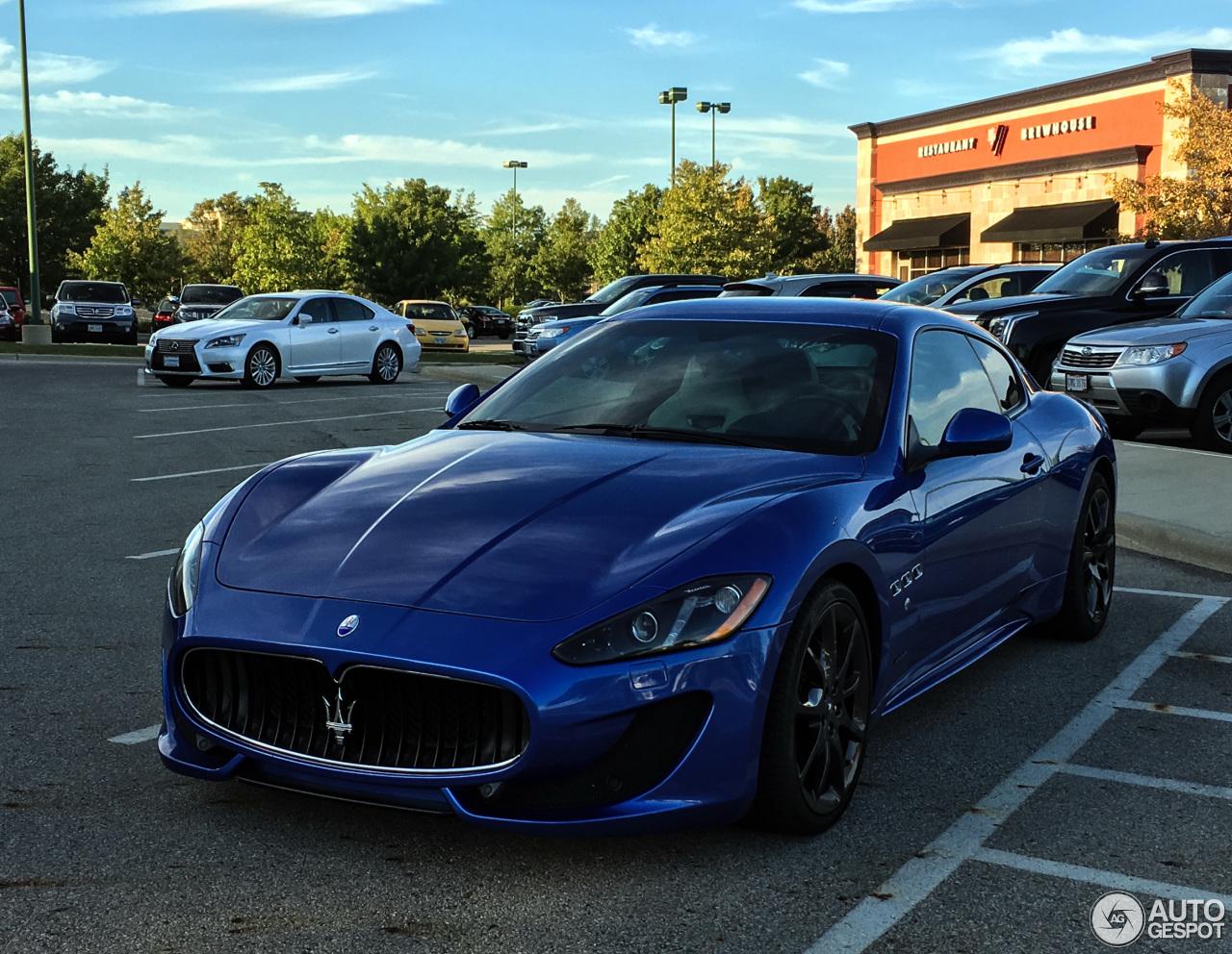 Maserati Granturismo Sport 26 September 2016 Autogespot