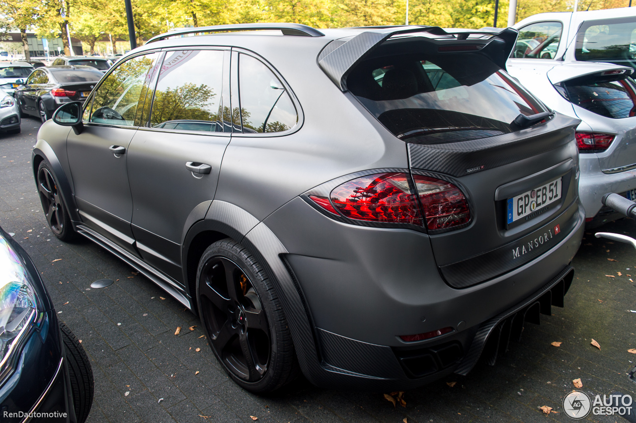 porsche mansory 958 cayenne 26 september 2016 autogespot. Black Bedroom Furniture Sets. Home Design Ideas