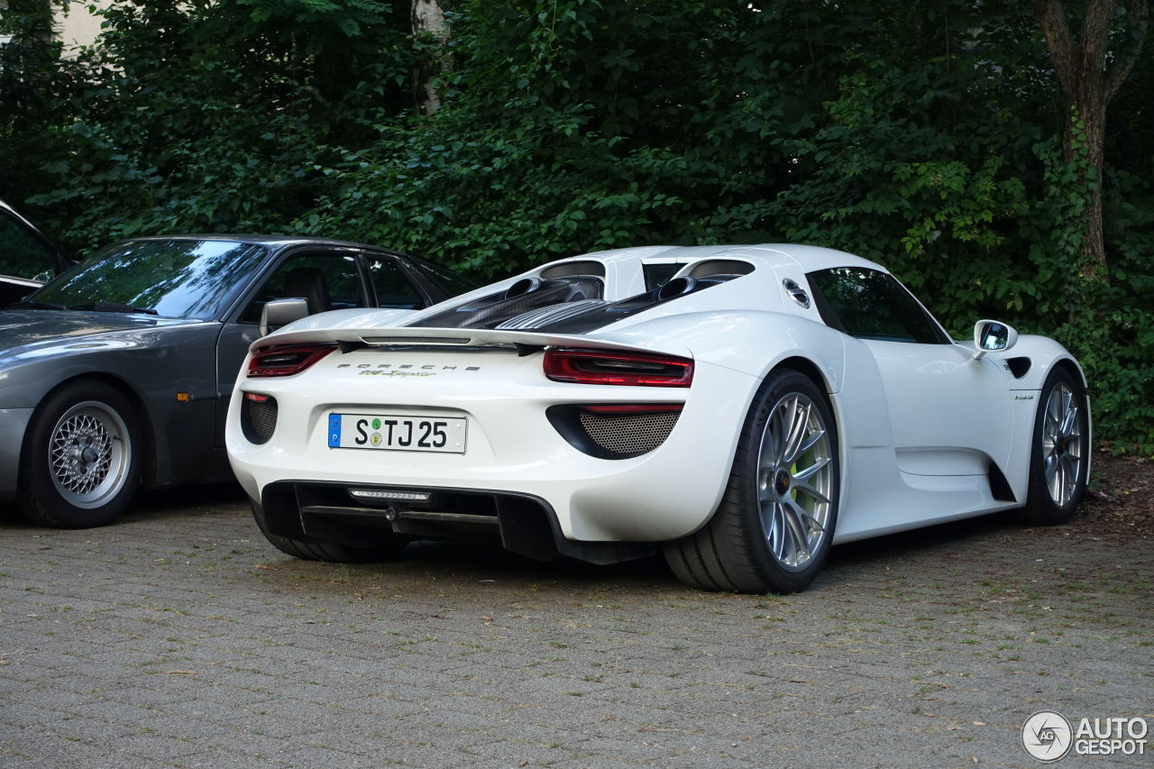 porsche 918 spyder 27 september 2016 autogespot. Black Bedroom Furniture Sets. Home Design Ideas