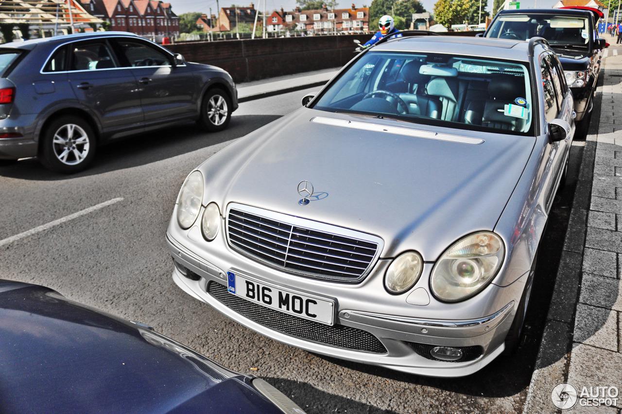 Mercedes benz e 55 amg combi 29 september 2016 autogespot for Mercedes benz e 55 amg