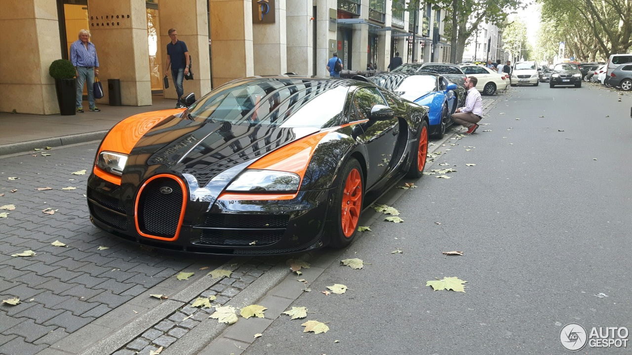bugatti veyron 16 4 grand sport vitesse world record car edition 30 septemb. Black Bedroom Furniture Sets. Home Design Ideas