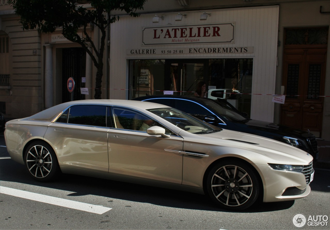Aston Martin Lagonda Taraf 1 October 2016 Autogespot